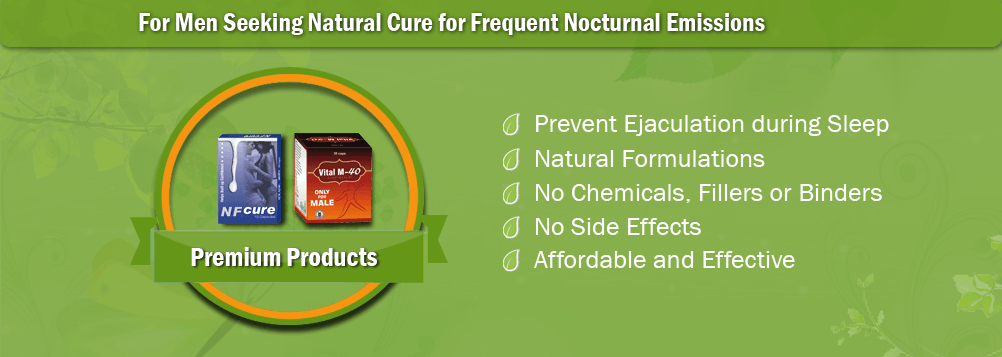 Natural Treatment for Nocturnal Emission
